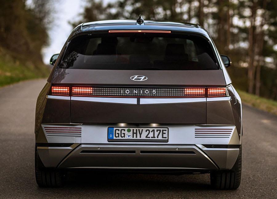 Hyundai Ioniq 5 rear view