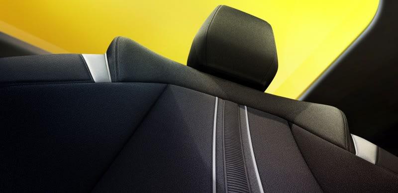 New Vauxhall Astra interior seat