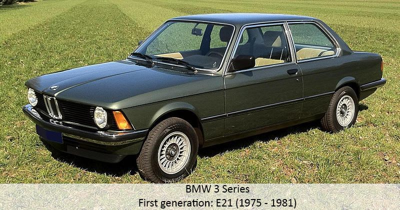 BMW 3 Series first generation model