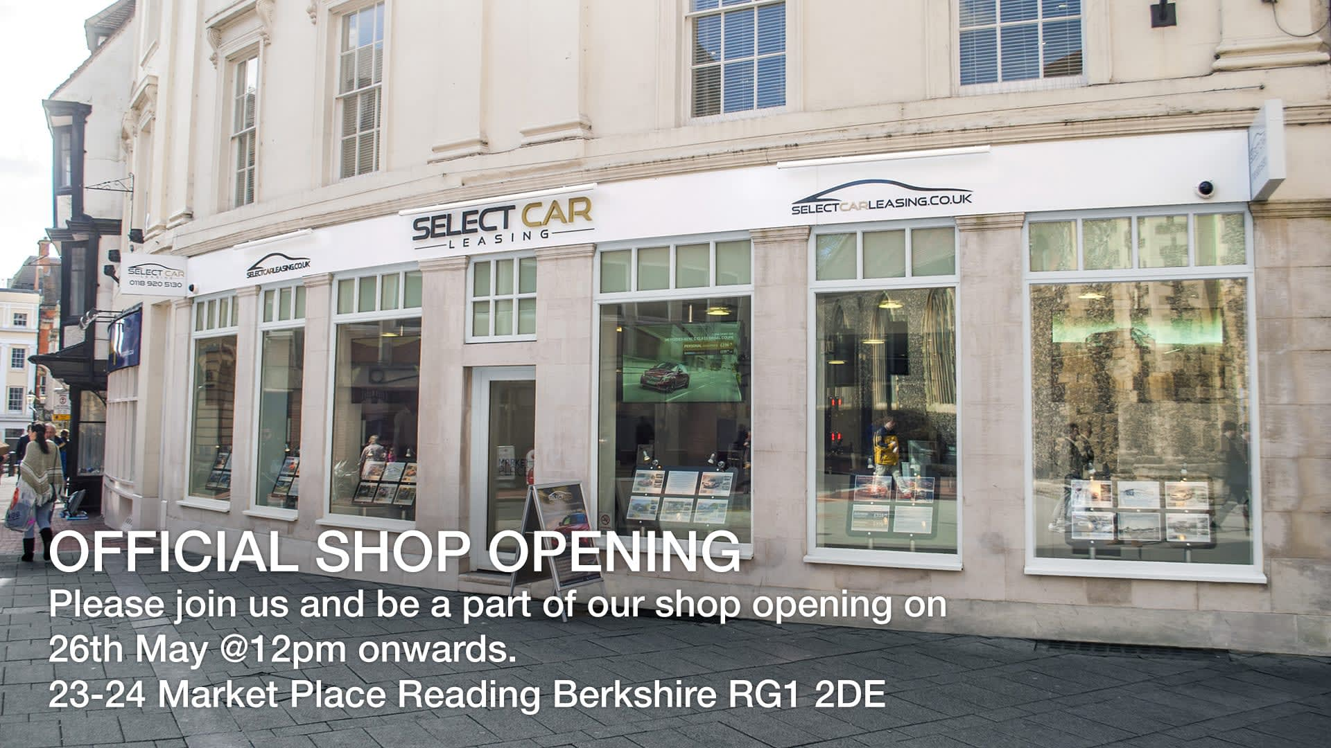 Official shop opening