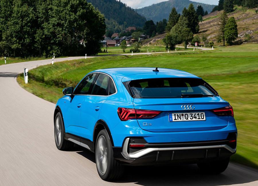 Audi Q3 Sportback  rear view