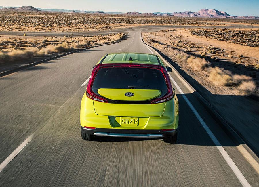 Kia Soul EV rear view