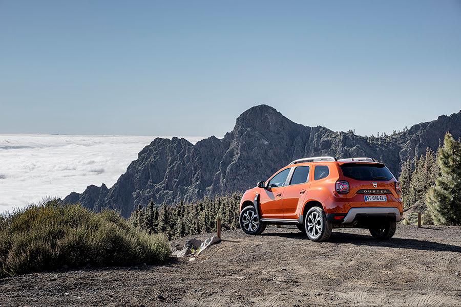 New Dacia Duster rear angle