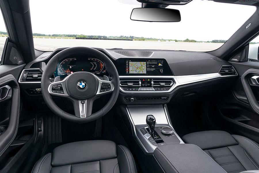 New BMW 2 Series Coupe Interior