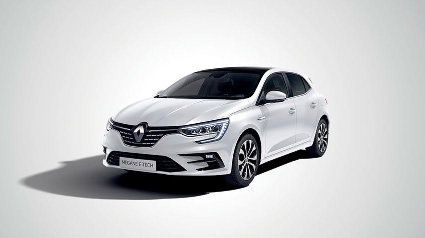 Renault Megane E-Tech front view
