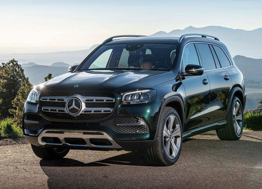 Mercedes-Benz GLS front view