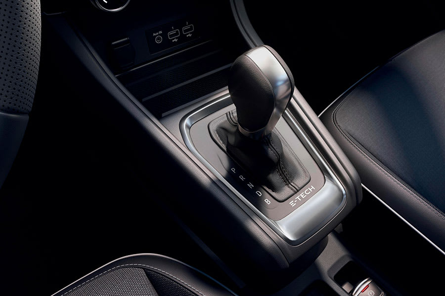 Captur E-Tech Hybrid gearbox