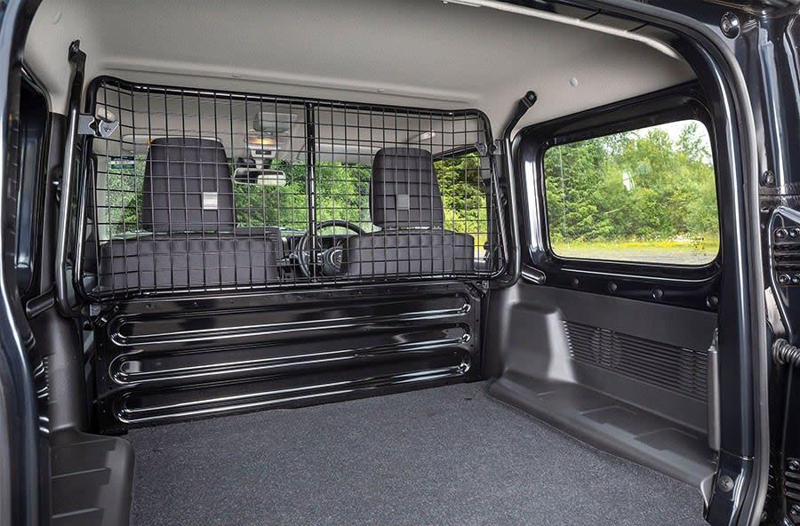 Suzuki Jumny LCV load space