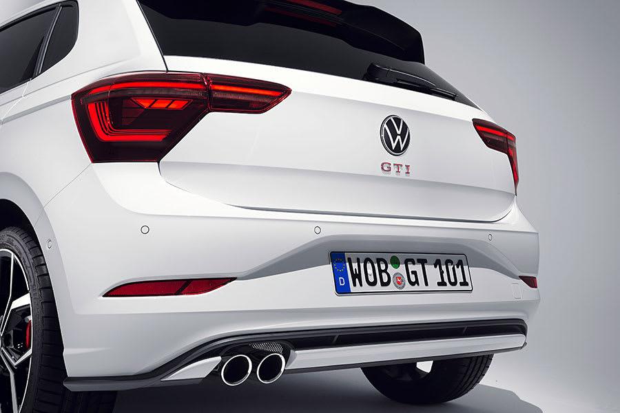 New VW Polo GTI rear end