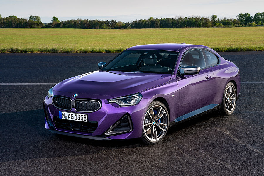 New BMW 2 Series Coupe side angle