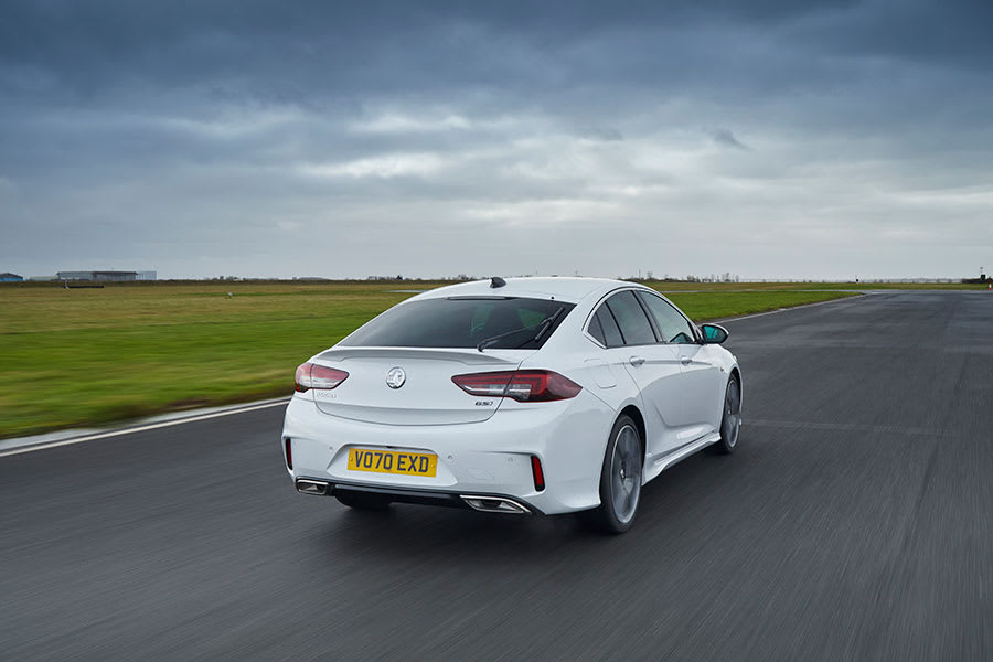 Vauxhall Insignia GSi back moving
