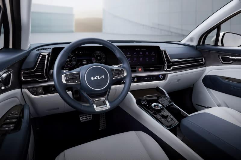 New Kia Sportage 2021 Interior