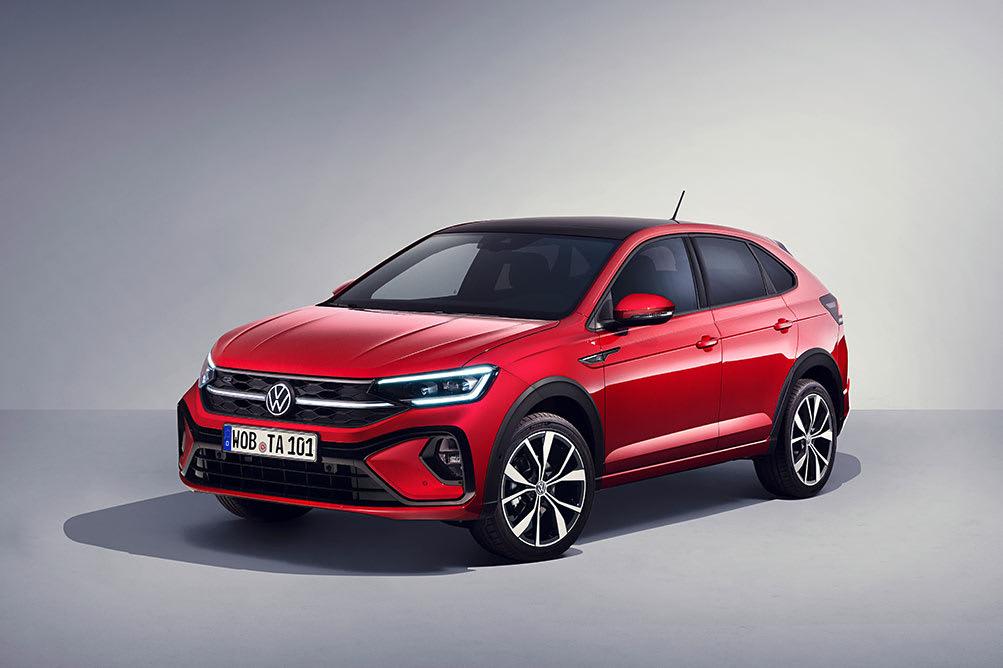 New VW Taigo Crossover Front