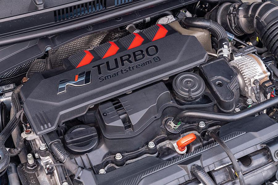 Hyundai i20N engine