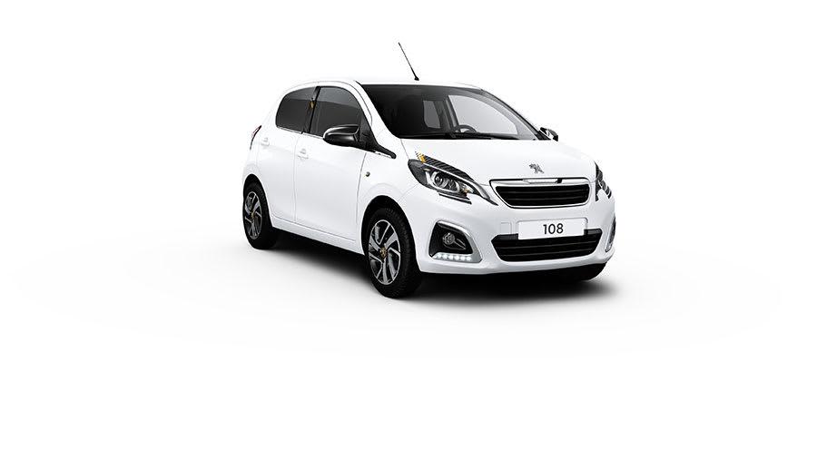 Peugeot 108 2021 update white