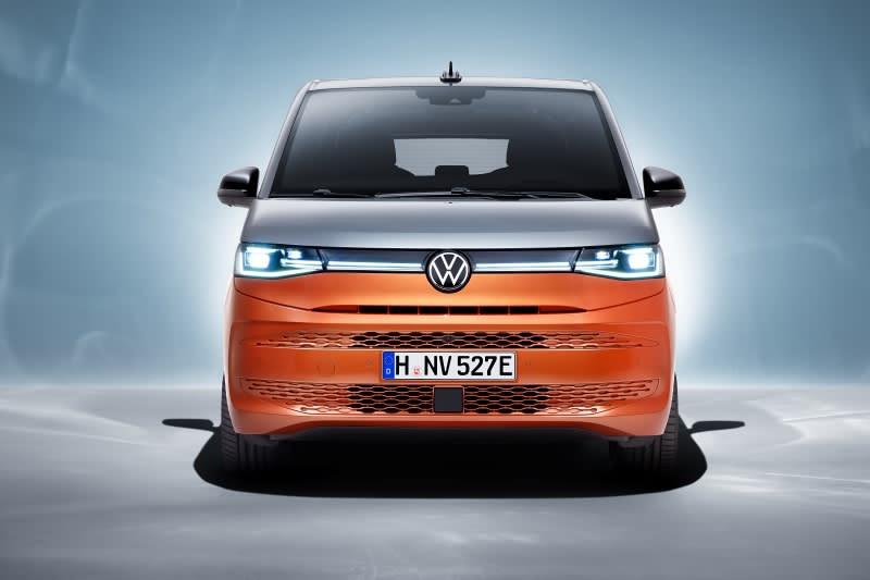 VW Multivan front view