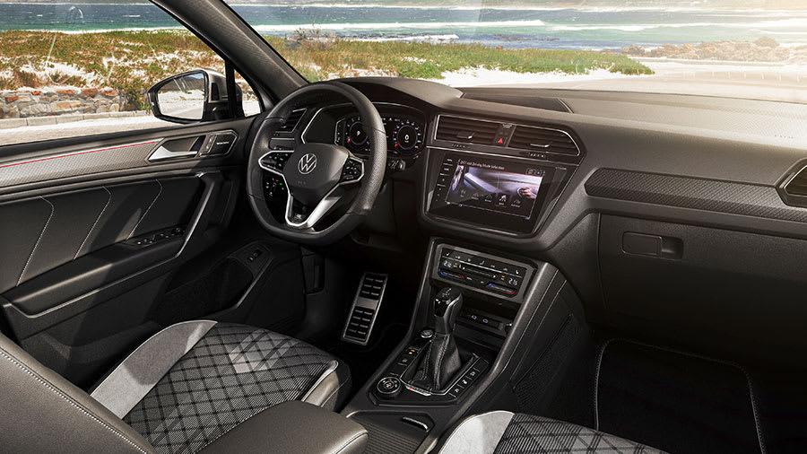 New Tiguan Allspace SUV 3 interior