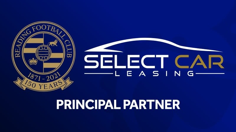 Select Car Leasing Partner with Reading FC