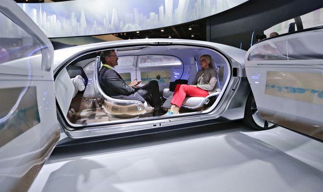 Mercedes driverless car is one such car tipped for the 'window' debate