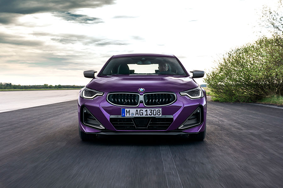 New BMW 2 Series Coupe front angle