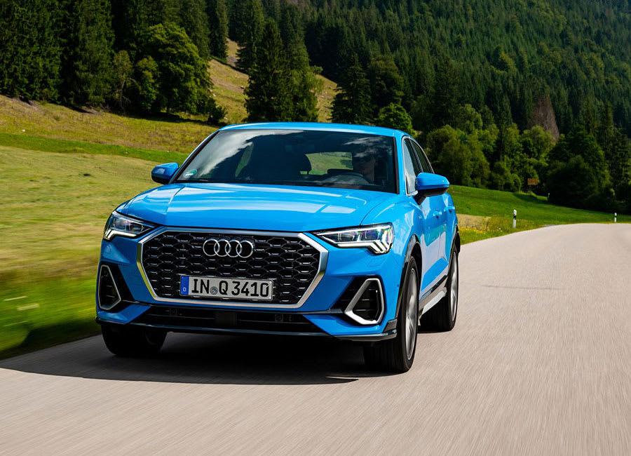 Audi Q3 Sportback front view