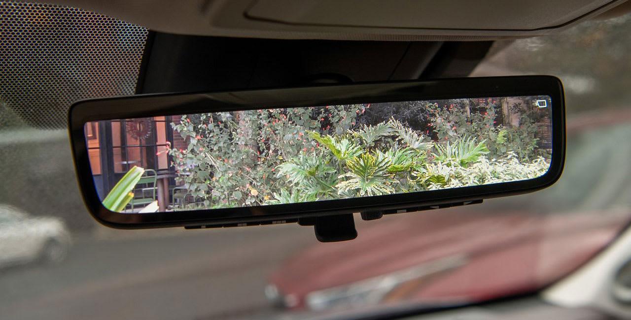 Toyota highlander reversing camera