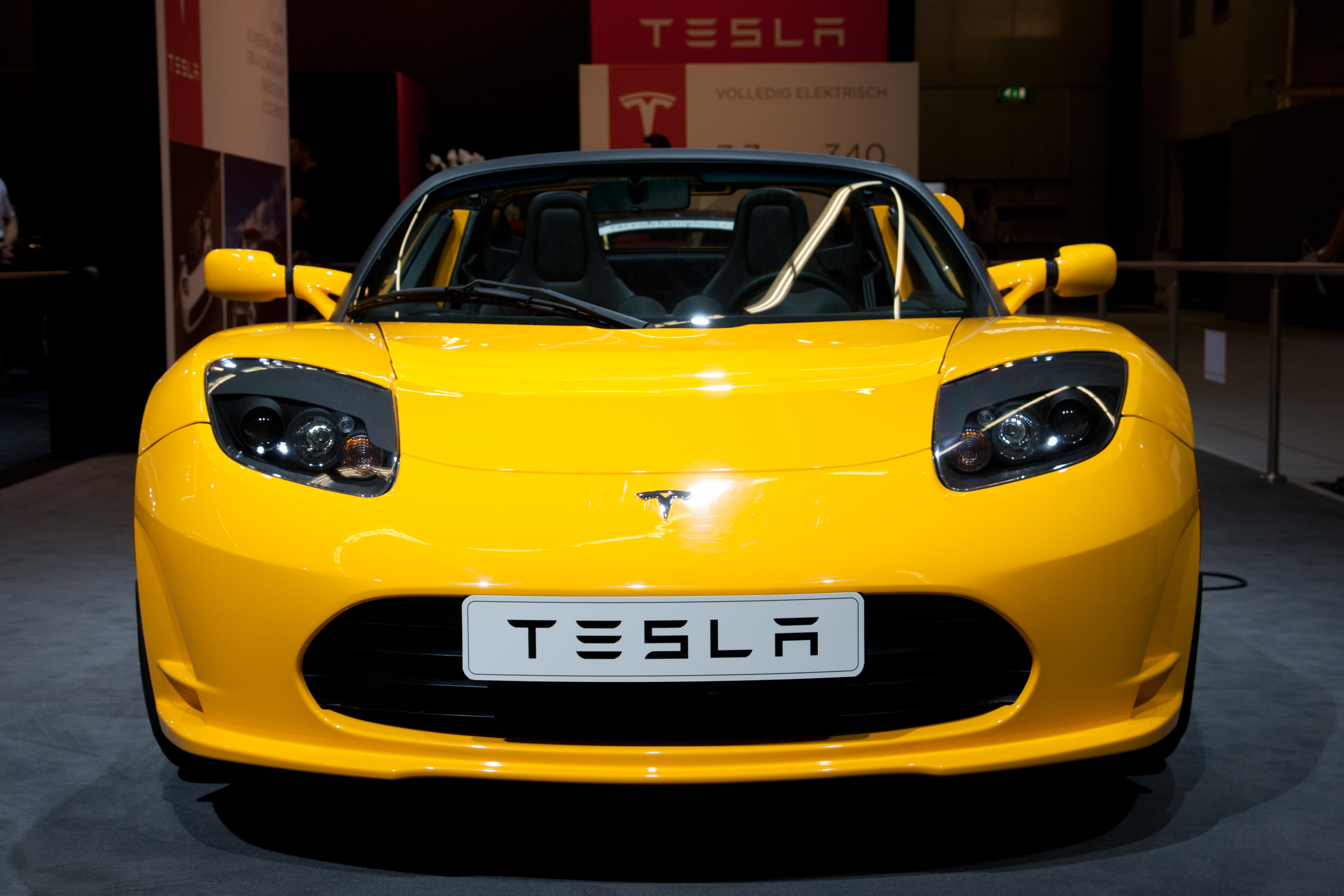 The original Tesla Roadster