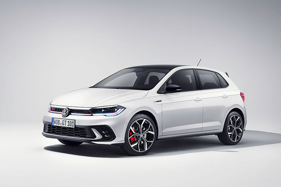 New VW Polo GTI side view
