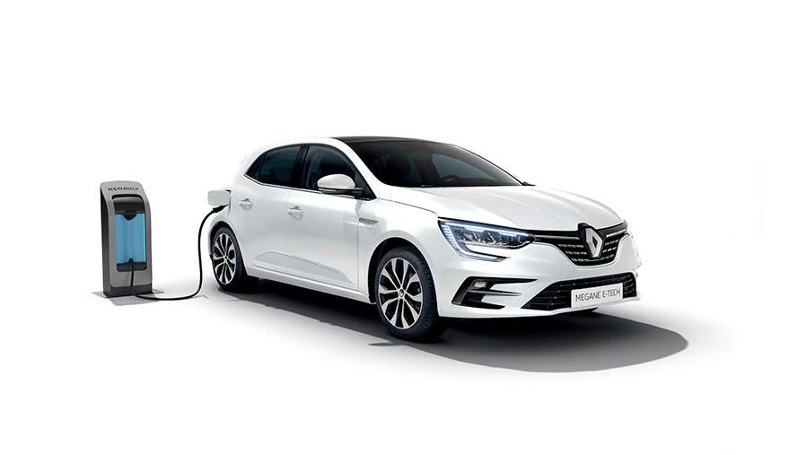 Renault Megane E-Tech charging
