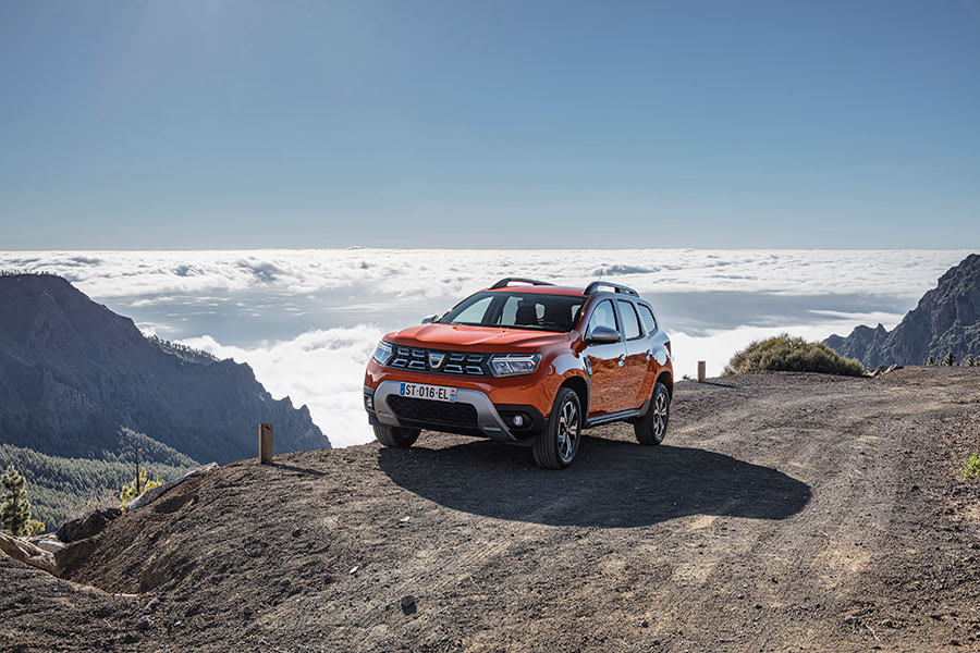 New Dacia Duster front angle
