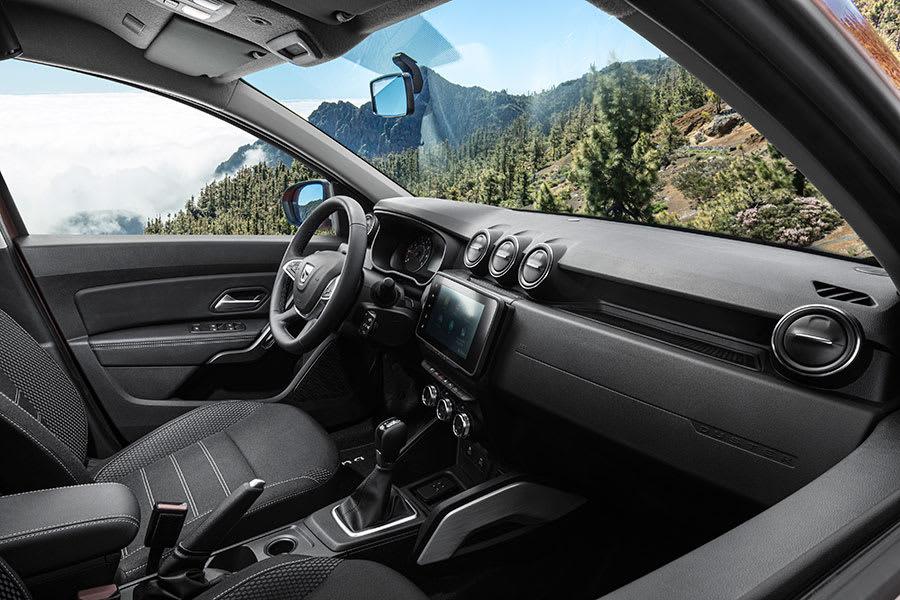 New Dacia Duster interior