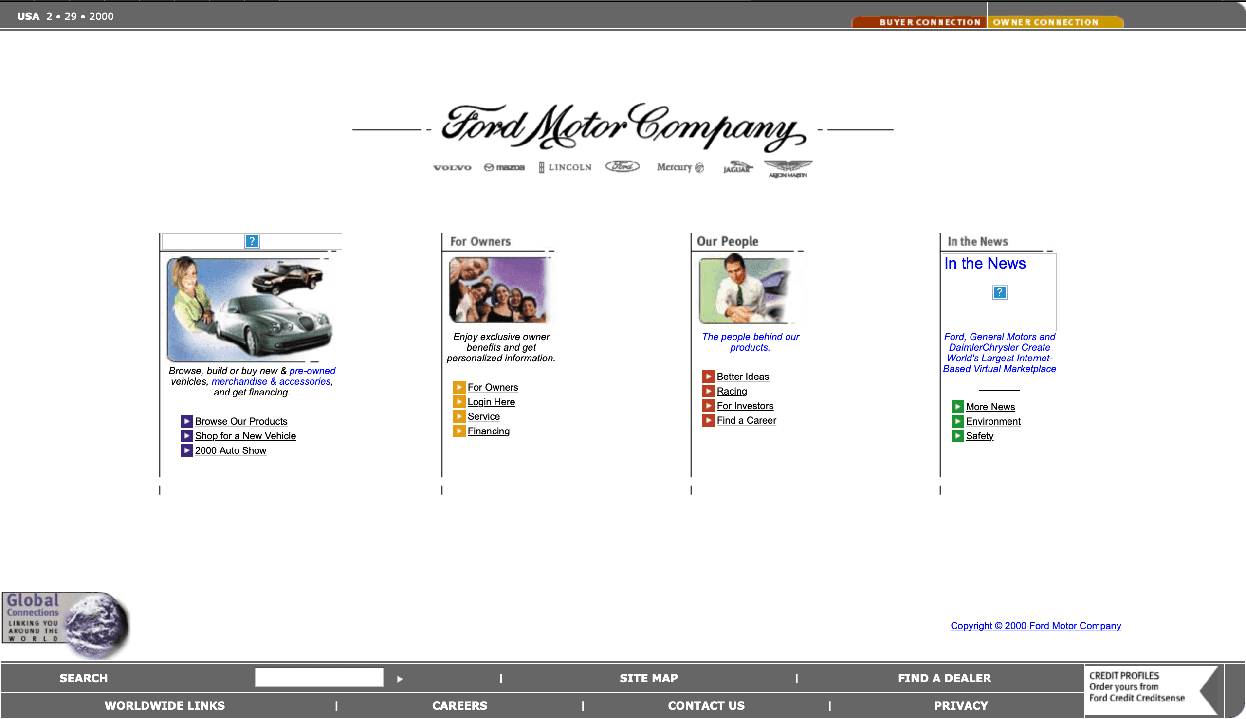 Website Wayback What Car Sites Looked Like 20 Years Ago Select Car Leasing