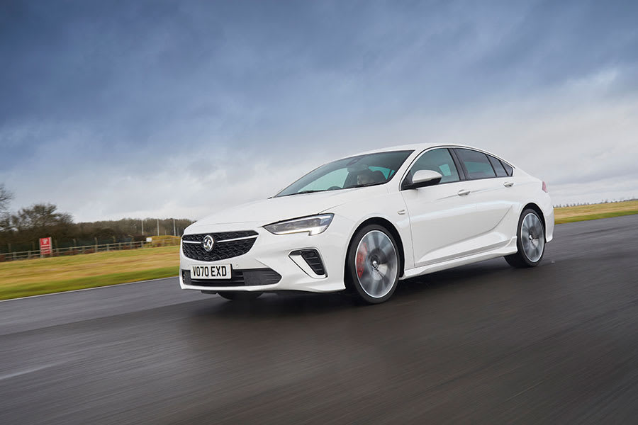 Vauxhall Insignia GSi front moving