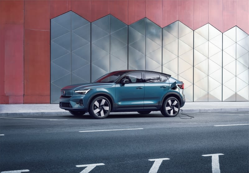 Volvo C40 Recharge Side View