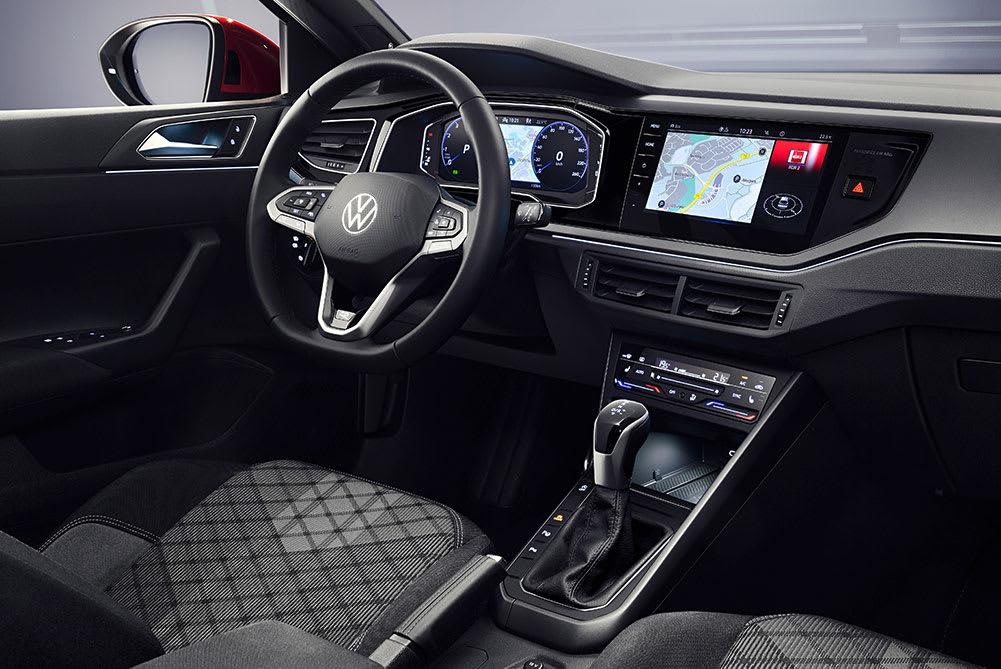 New VW Taigo Crossover Interior