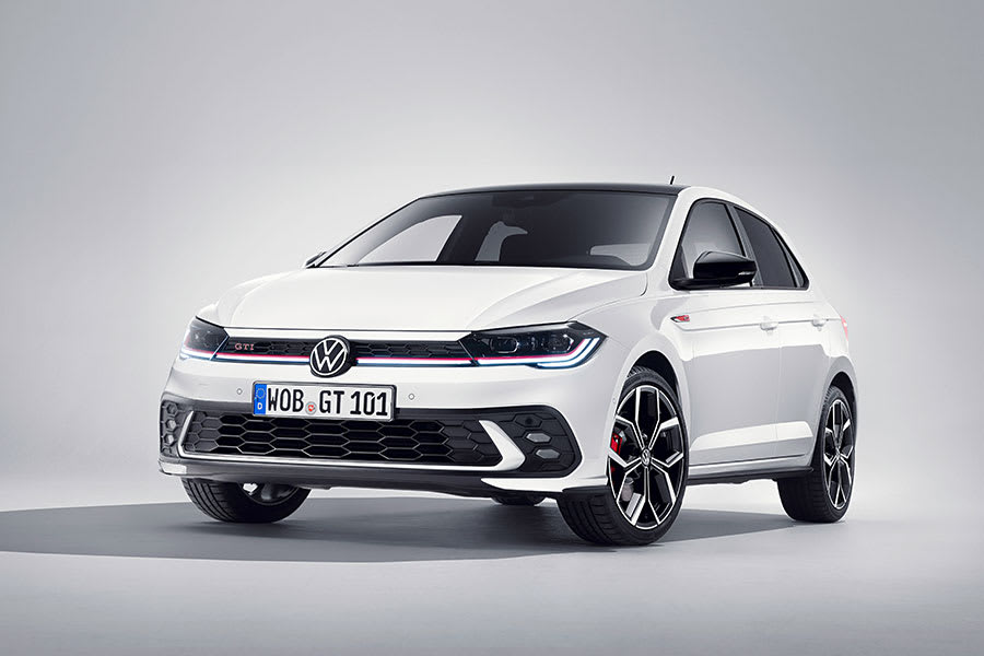 New VW Polo GTI front view