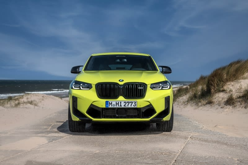 BMW X4 M Front View