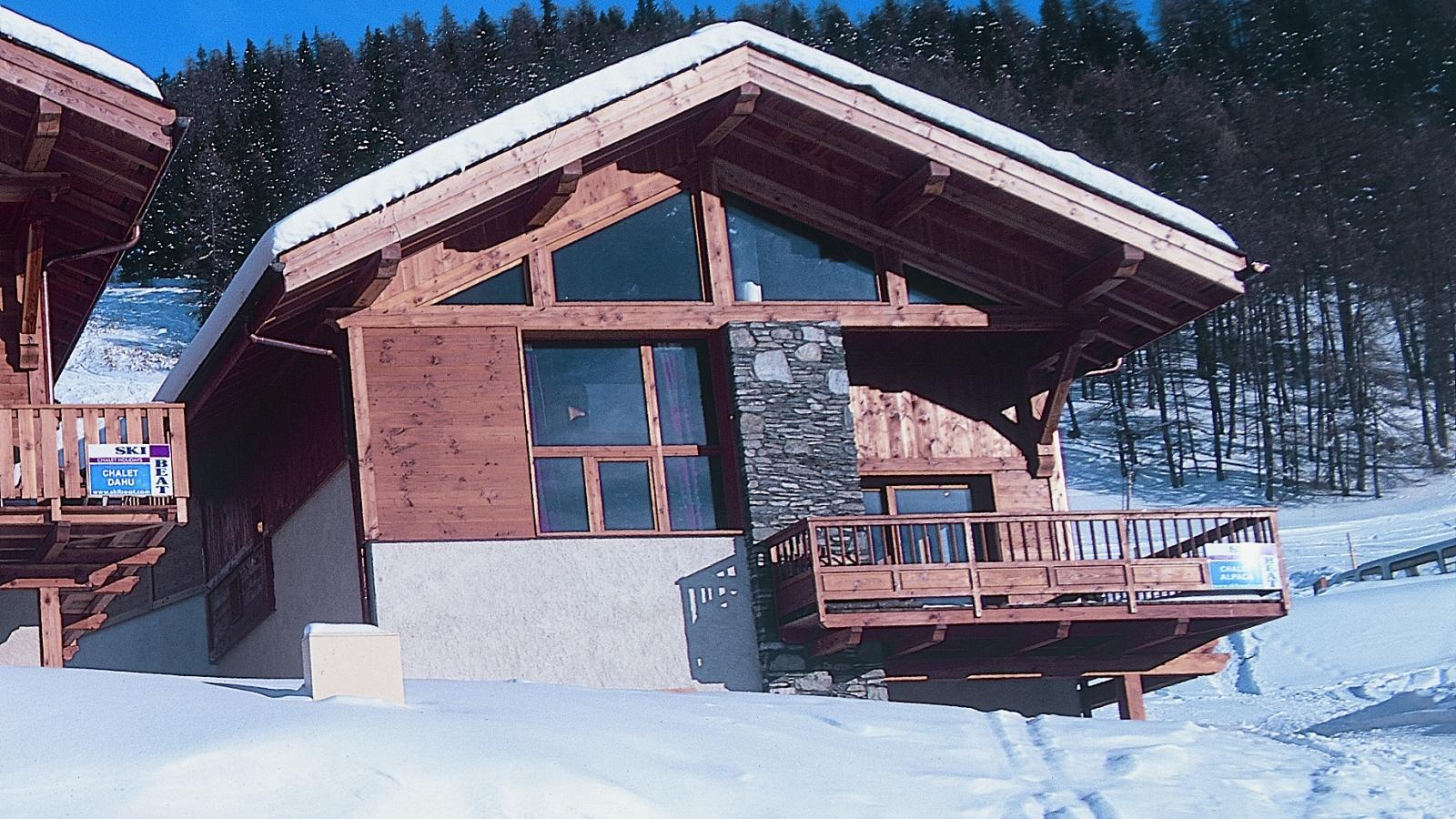 Ski France Plan Peisey Les Arcs Chalet Alpaca Ski