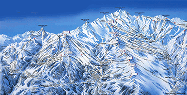 Biggest ski areas