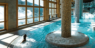 ski hotels with spas