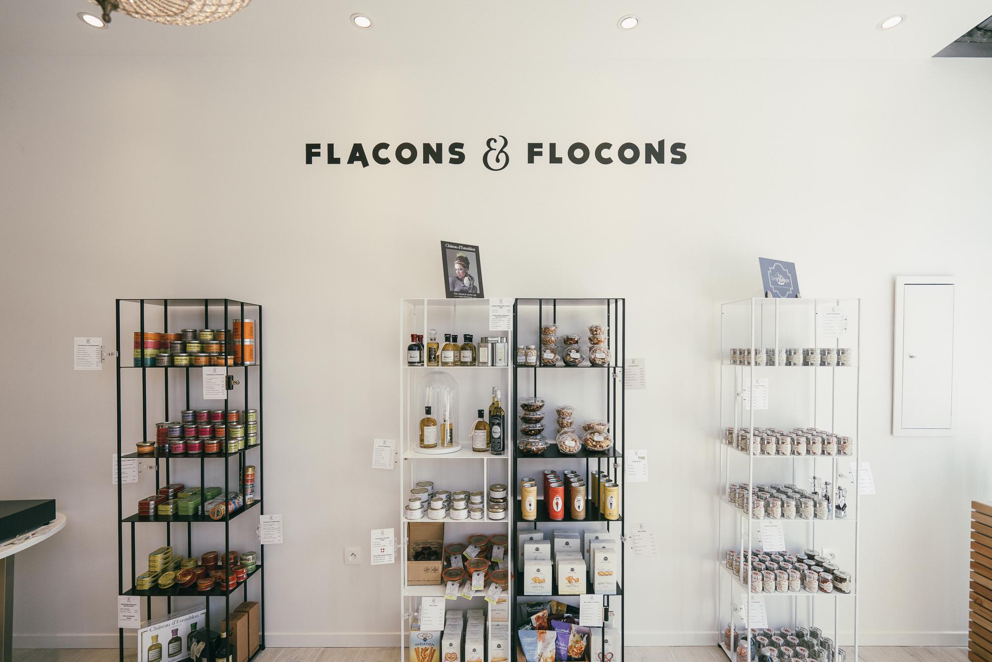 Flacons et Flocons