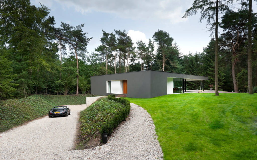Modern home bends the rules to maximize functionality