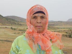 Fatima Haddash from Souq El Hed, Morocco