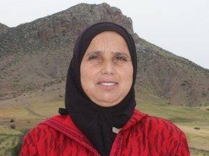 Naima Mehboub from Souq El Hed, Morocco