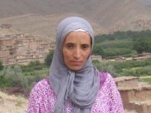 Fatima Yidri from Imelghas, Morocco