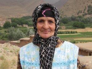 Fatima Bousna from Imelghas, Morocco