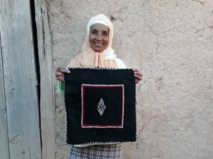Zahra Idrissi from Ait Hamza, Morocco