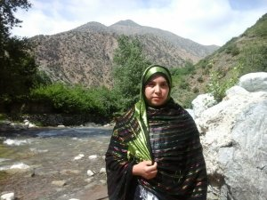 Fatima Taousfourt from Ourika, Morocco