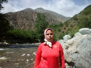 Jamila Oubna from Ourika, Morocco