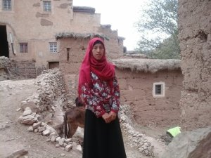Hassna Samih from Ait Bouguemez, Morocco